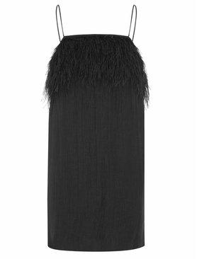Aje Pellew Feather Dress