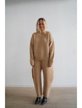 Lauren Manoogian Cashmere Bow Pants
