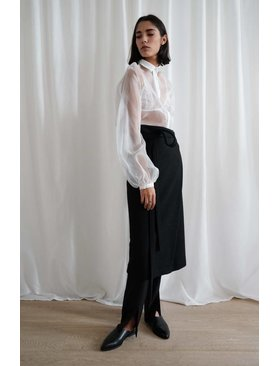 Lupe Juma Crossed Skirt