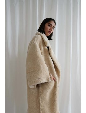Arjé The Sol Reversible Shearling Coat
