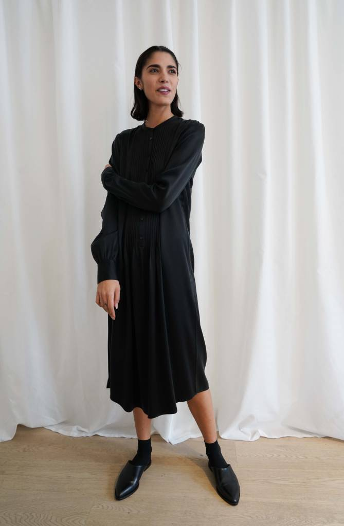 La  Collection Agathe Dress Black