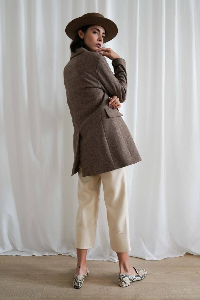 Lupe Blanca Oversized Blazer