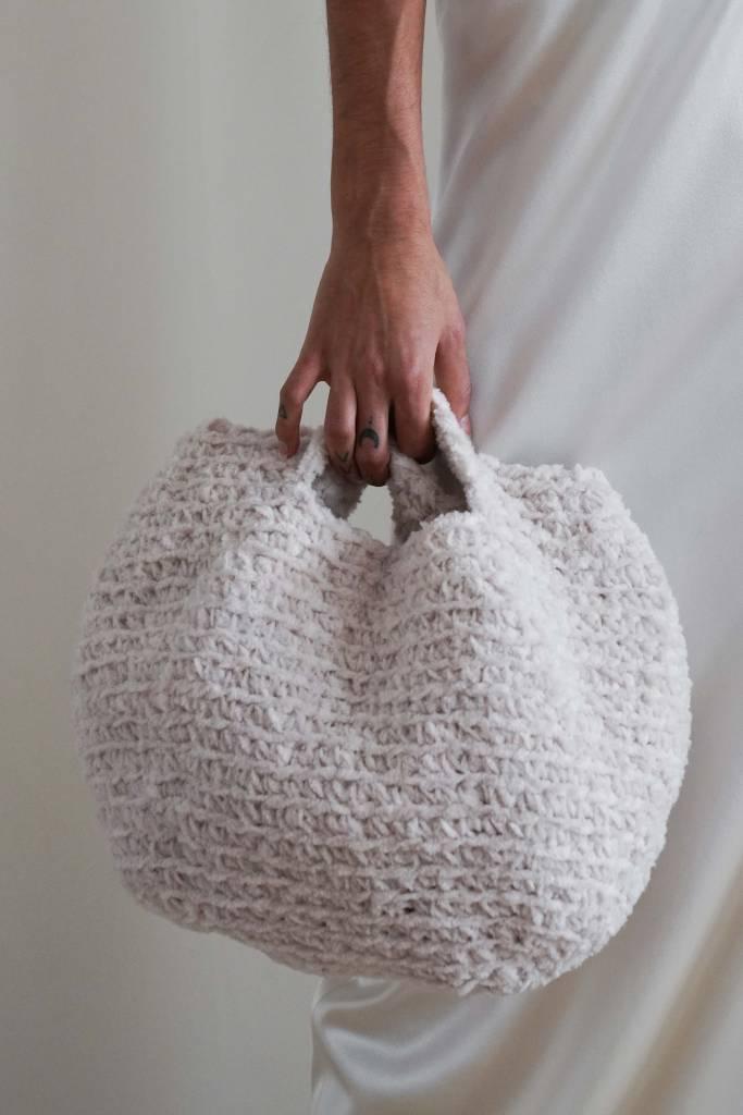 Camille Handmade Wool Handmade Bag