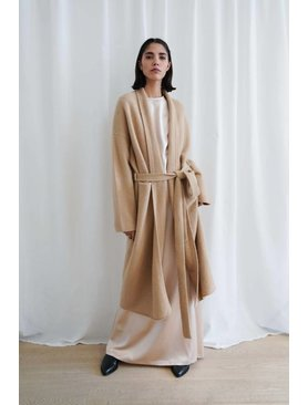 Lauren Manoogian Cashmere New Robe Coat
