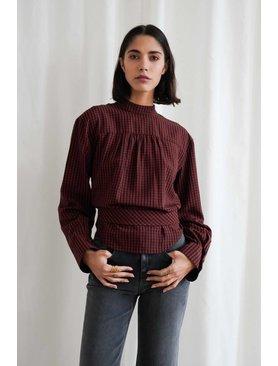 Nanushka Stine Long Sleeve Blouse