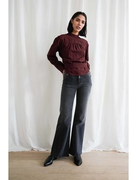 Tom Wood Flare Jeans