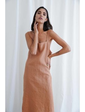 Matin Wide Strap Dress