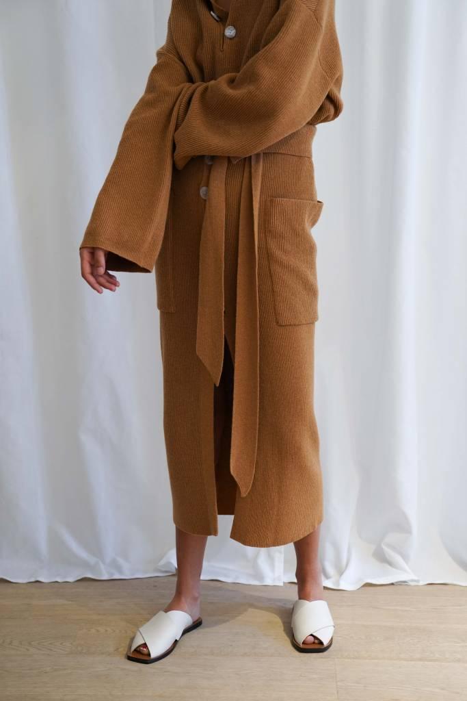 Nanushka Zulu button down skirt