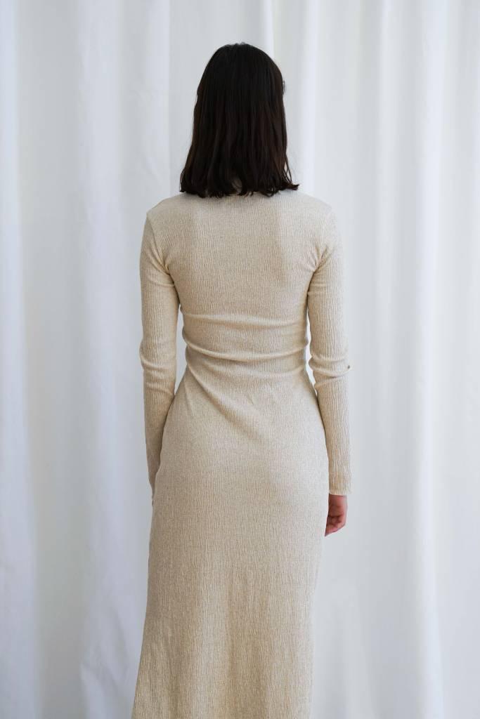 Nanushka Cheope tie front dress