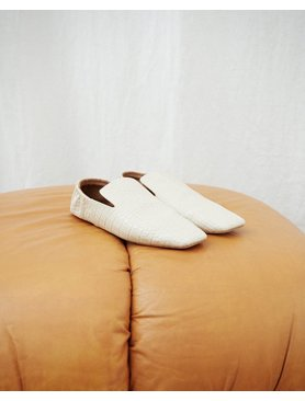 Nanushka Noa Square Toe Flat Loafer