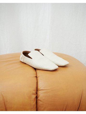Nanushka Noa Square Toe Flat Loafer