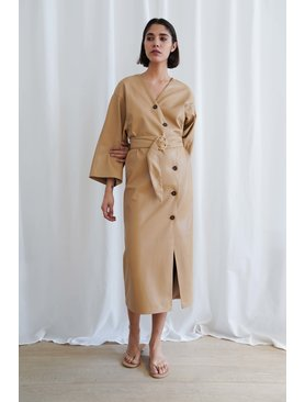 Nanushka Iben Kimono Dress