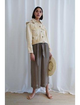 Nanushka Ines Paperbag Waist Pants
