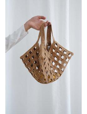 Lauren Manoogian Paper Grid Bag