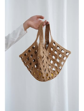 Lauren Manoogian Paper Grid Bag