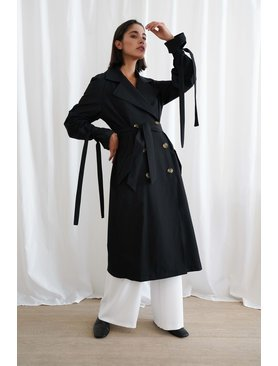 Le Brand Black Trench