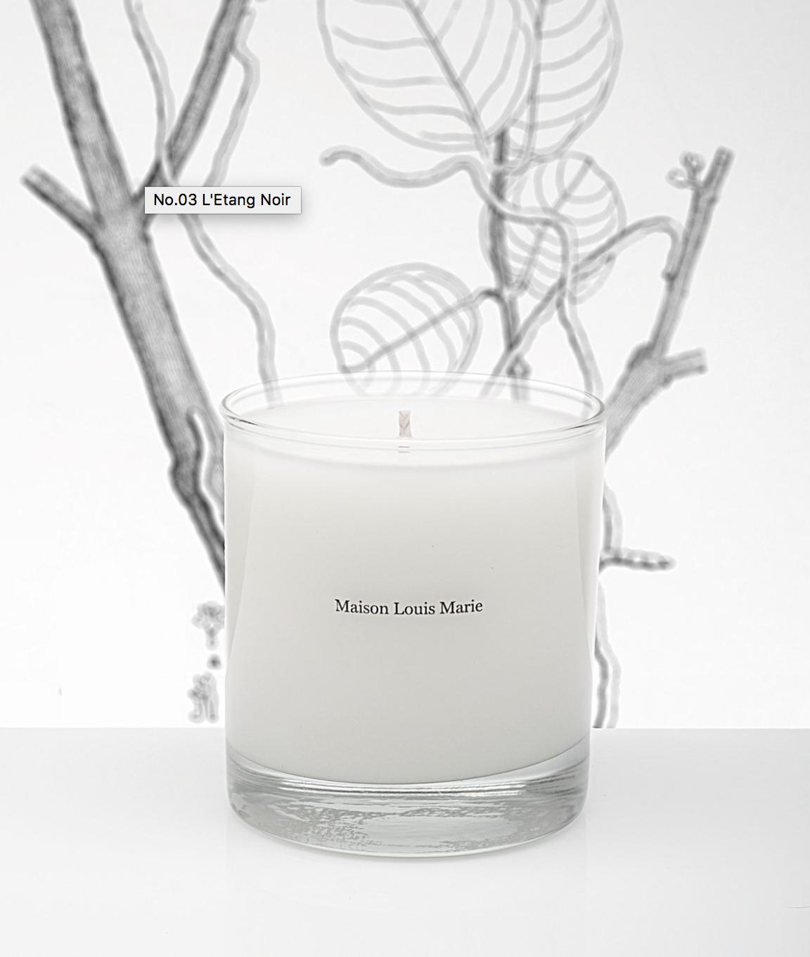 Maison Louis Marie L'Etang Noir Candle