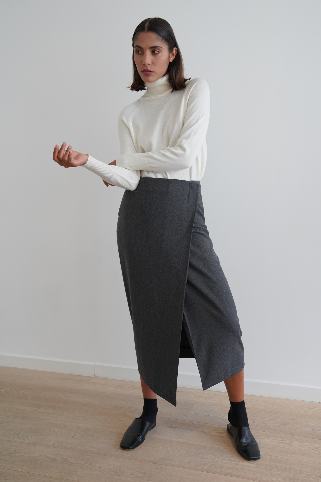 La  Collection Augusta Wrap Skirt
