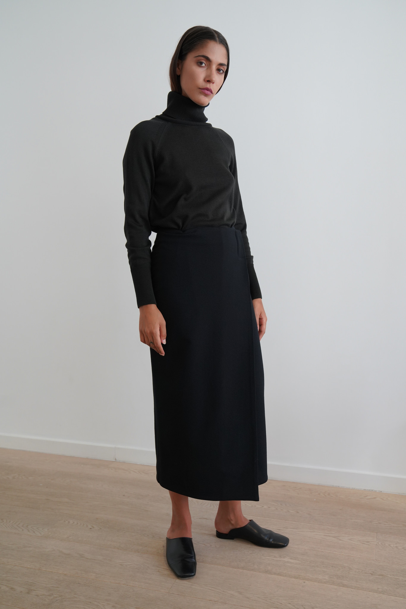 La  Collection Augusta wrap skirt