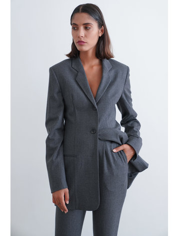 La  Collection Alba Blazer Flannel