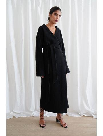 La  Collection Isodora Dress Bouclé
