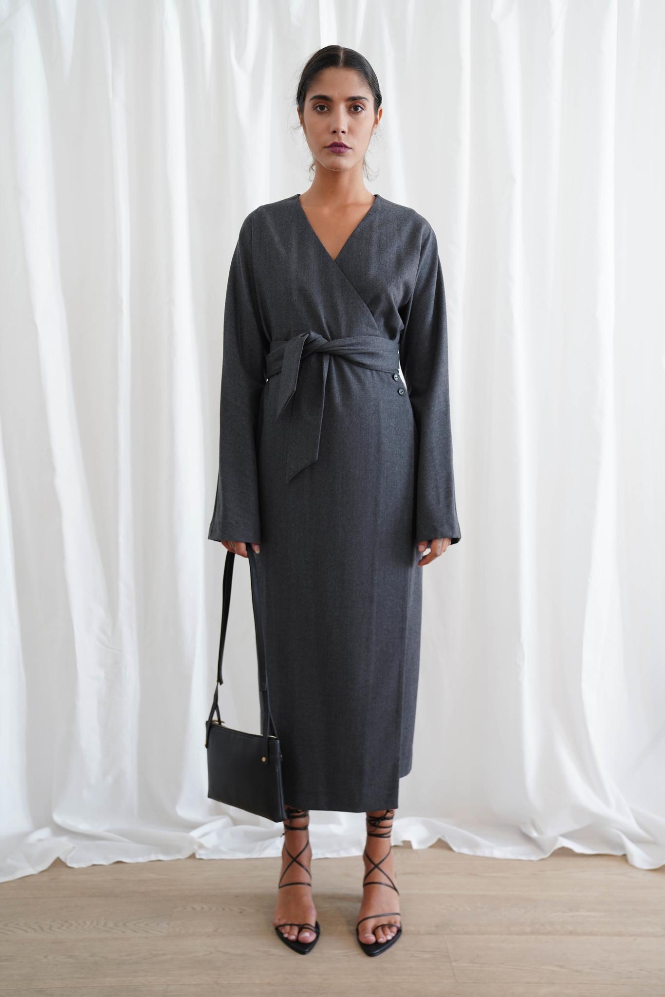 La  Collection Isodora Dress Wool