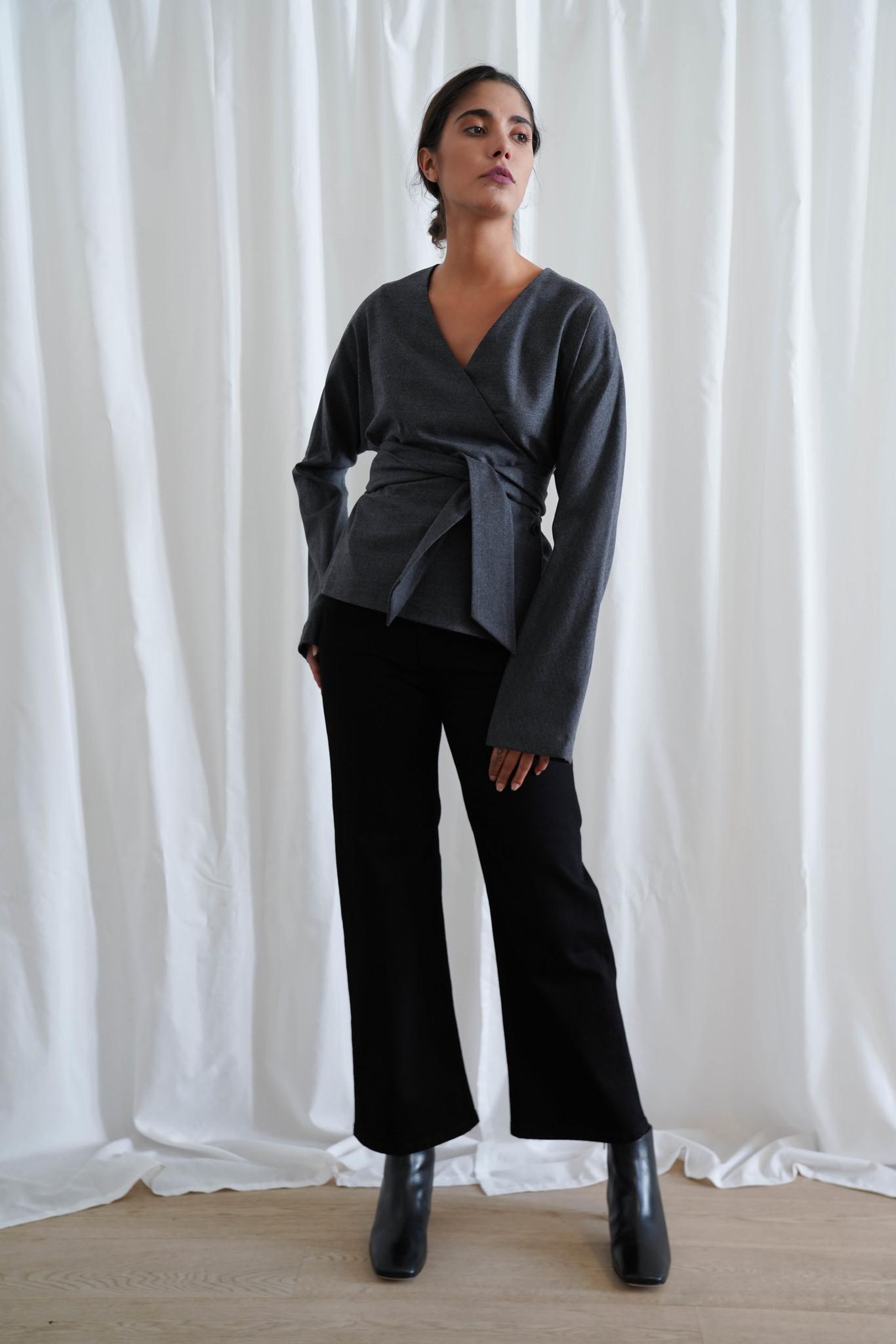La  Collection Manon Kimono Wool