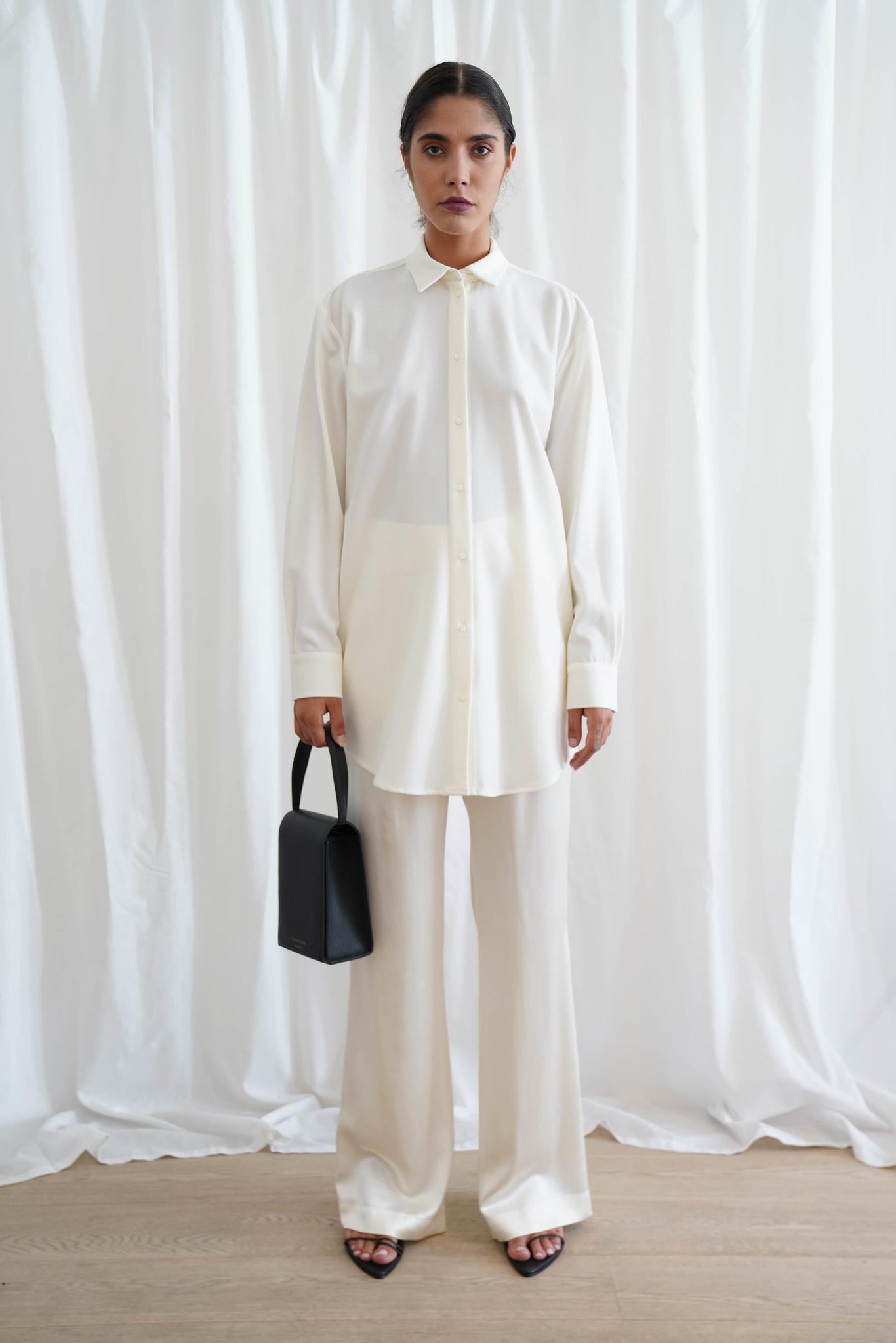 La  Collection Artur Wool Shirt