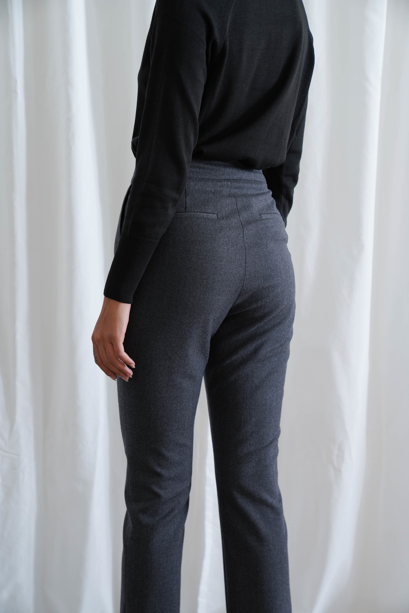 La  Collection Mary Trousers Flannel