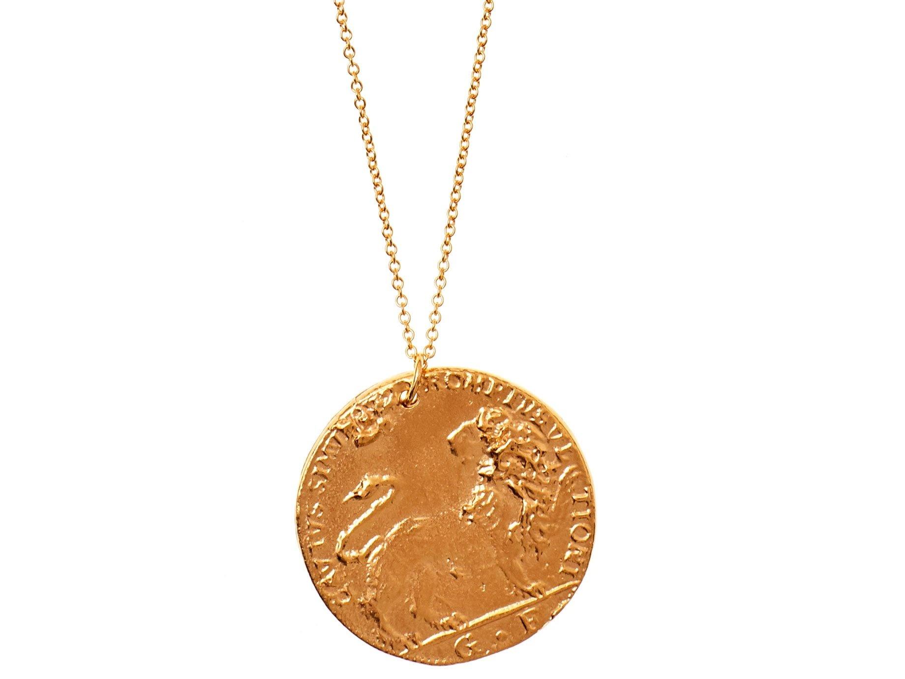 Alighieri Il Leone Medallion