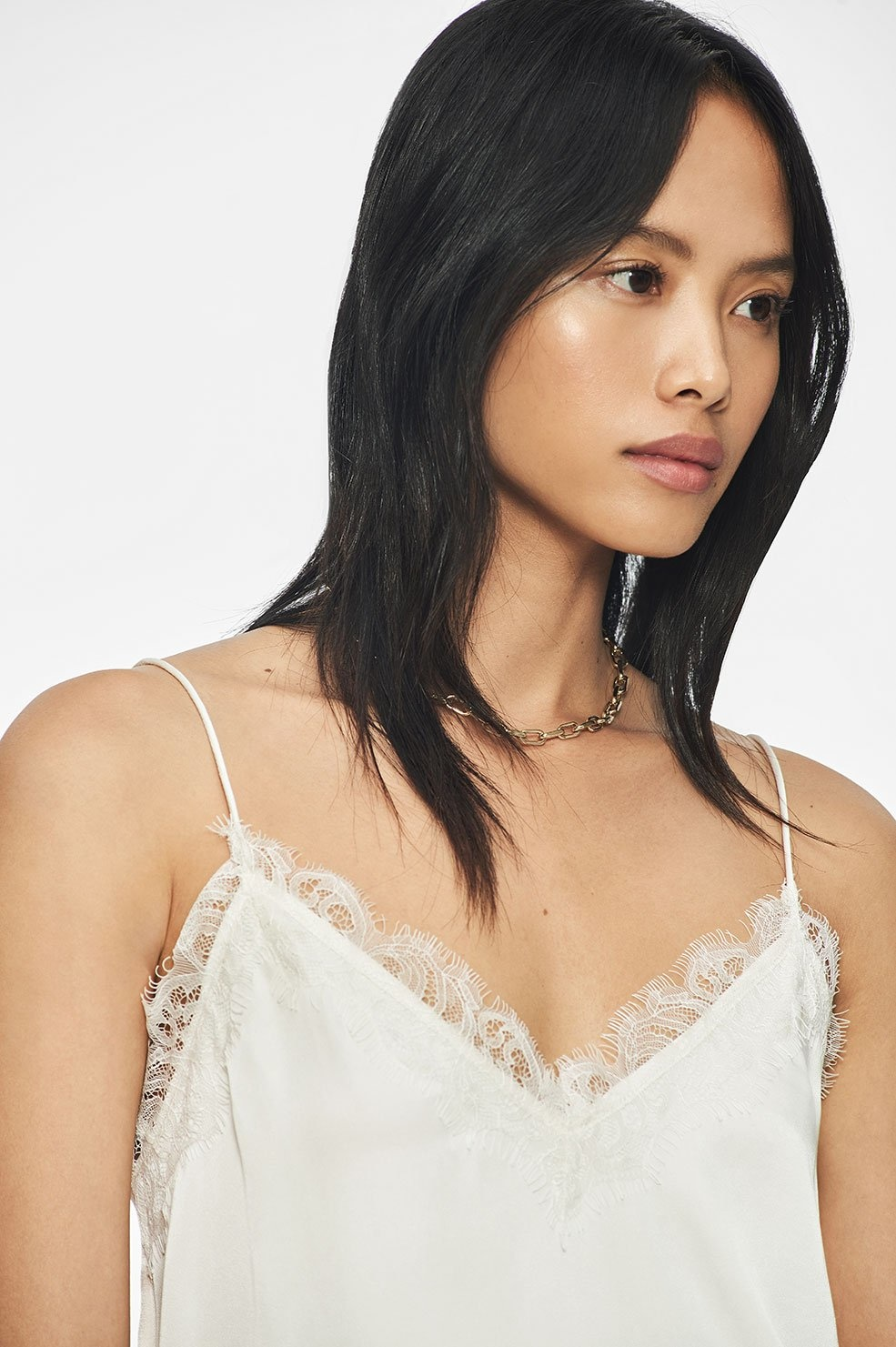 Anine Bing Belle Silk Camisole