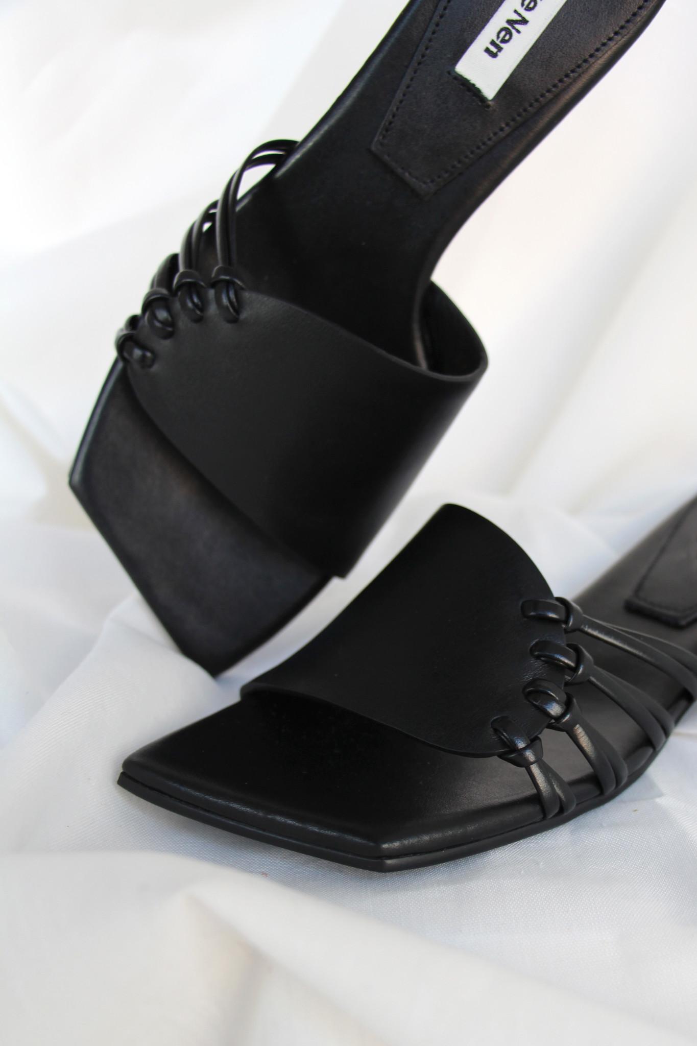 Reike Nen Side Knot Slippers