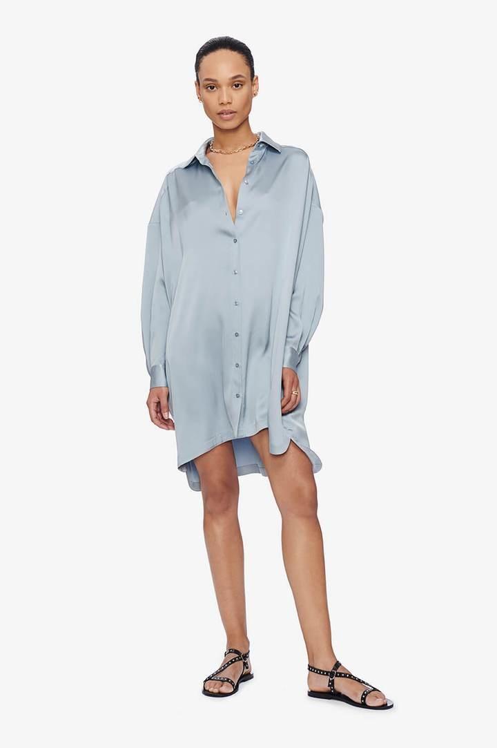 Anine Bing Aubrey Silk Dress