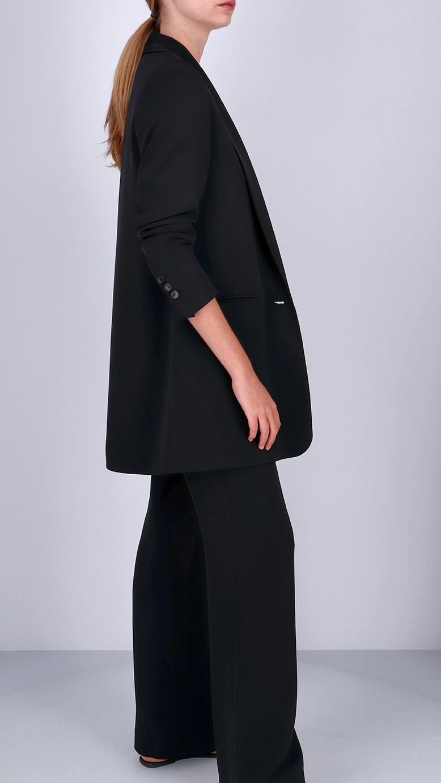 La  Collection Gabrielle Crepe Silk Trousers