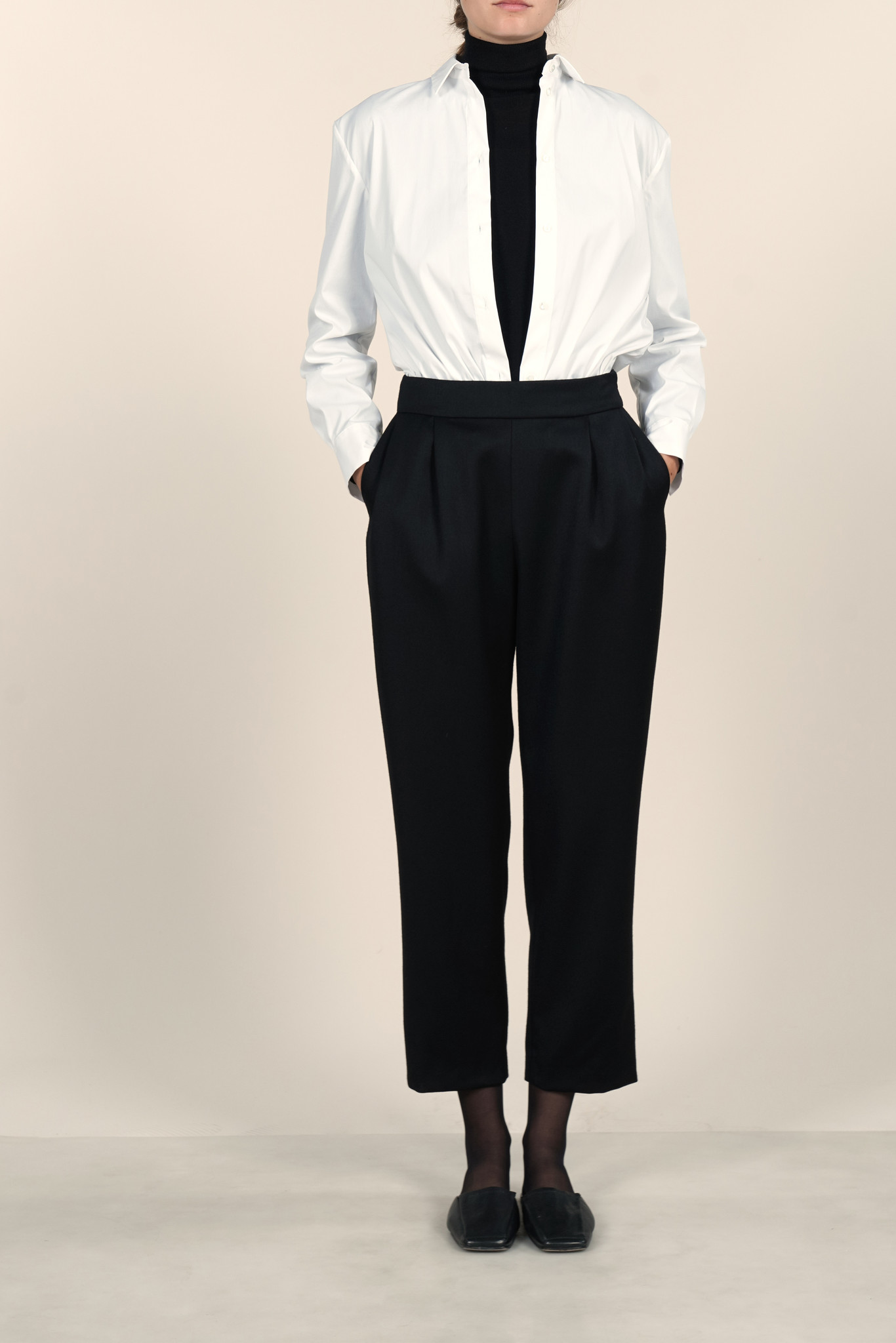 La  Collection Luela Trousers Wool