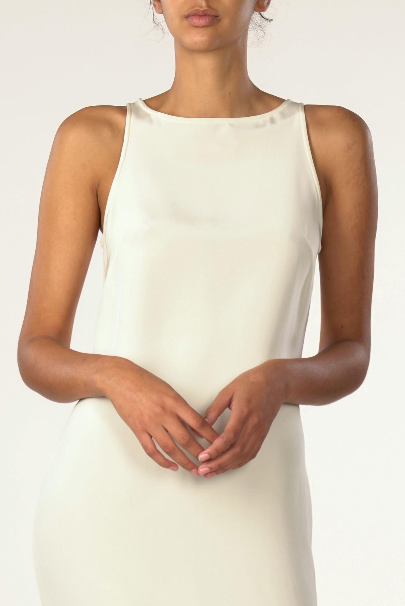 La  Collection Naomi Crepe Silk Dress
