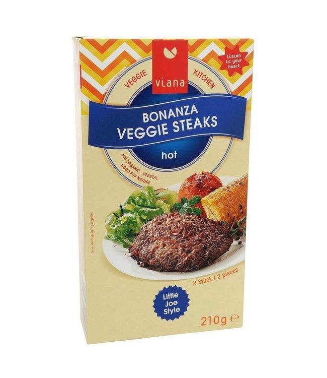 Viana Viana Bonanza Veggie Steaks 210g