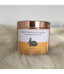 Vegan Bunny Vegan Bunny Sweet orange candle 200ml
