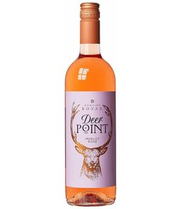 Rose Wine Merlot Rose Deer Point 75cl