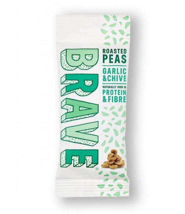 Brave Foods Brave Roasted Peas Garlic & Chive 35g