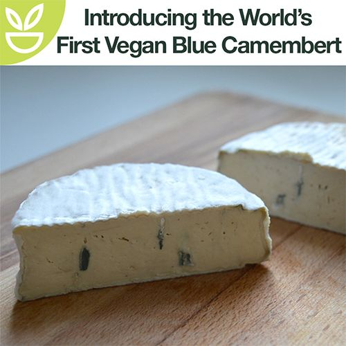 World's First Vegan Blue Camembert debuts in the UK