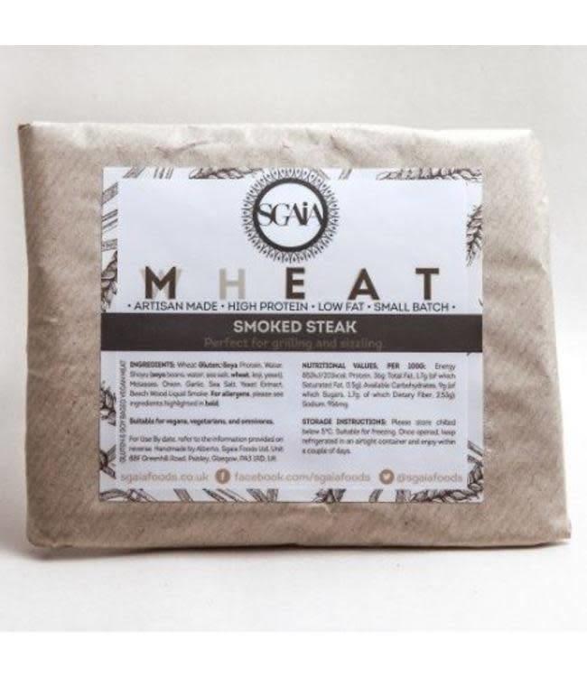 Sgaia Sgaia Mheat Steak Smoked 150g