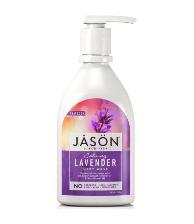 Jason Jason Lavender  Body Wash Pump 900ml