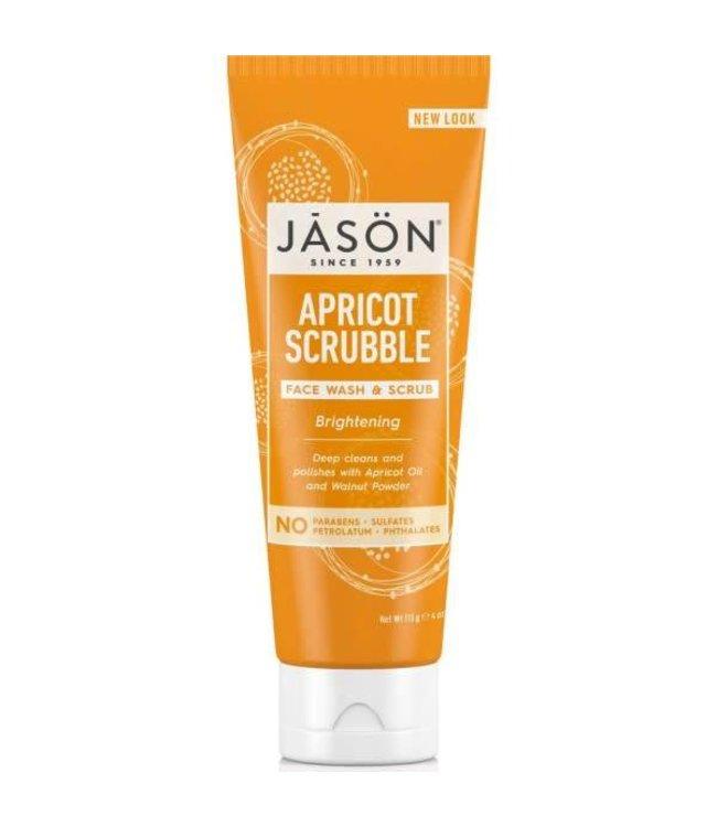 Jason Jason Apricot Facial Wash & Scrub 113ml