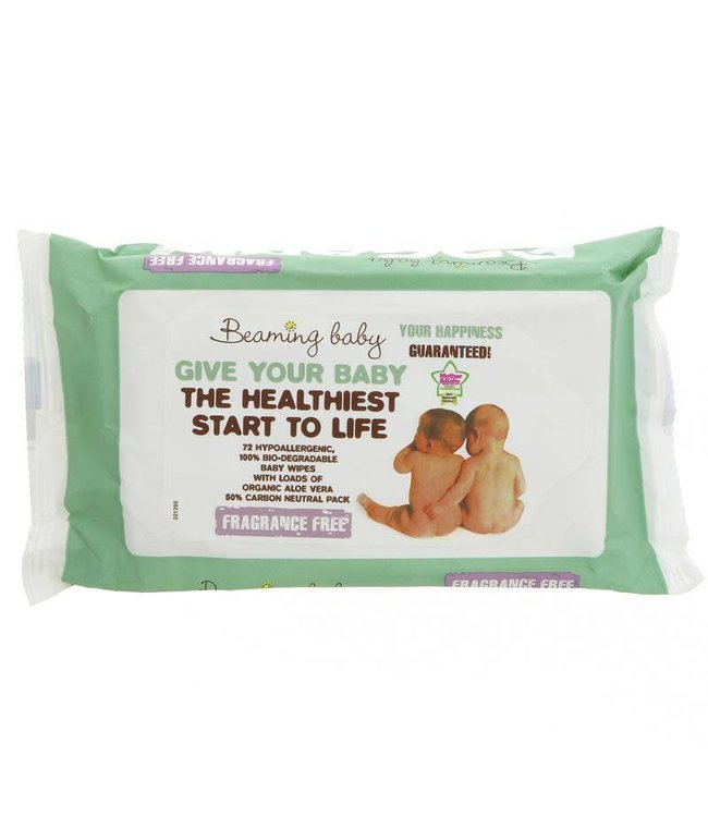 Beaming Baby Beaming Baby Organic Baby Wipes Unscented 72
