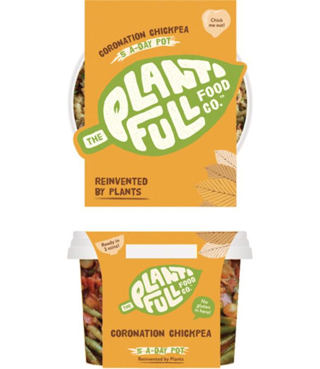 Plantifull Food Co - Vegan Ready Meals Plantifull Gluten Free Coronation Chickpea 340g