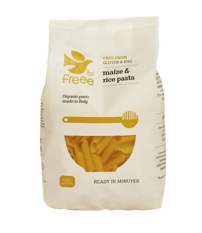 Doves Farm Doves Organic Maize & Rice Penne 500g