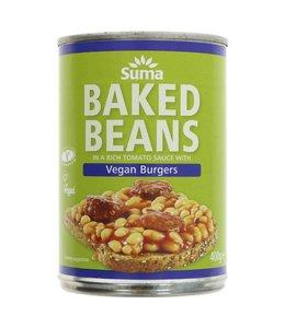 Suma Suma Baked Beans & Vegan Burgers 400g