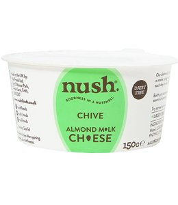 Nush Foods Nush Almond M*lk Chive Cheese Style Spread 150g