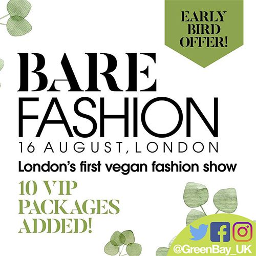 London's First Vegan Fashion Show & Catwalk - Read for Exclusive Discount Code!